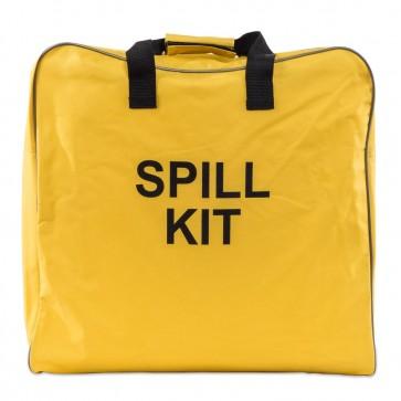 Yellow Canvas Spill Kit Bag