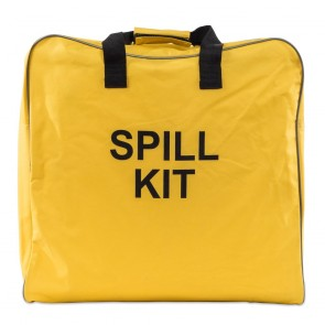Yellow Canvas Spill Kit Bag