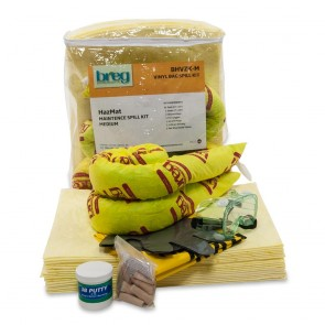 Breg HazMat Vinyl Zipper Spill Kit - Medium
